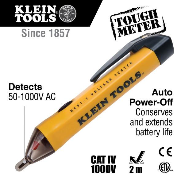 Non-Contact Voltage Tester Pen, 50 to 1000 Volts