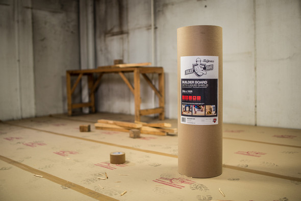 """Builder Board™ - 38"""" x 100' Natural-Color Roll - Use"""