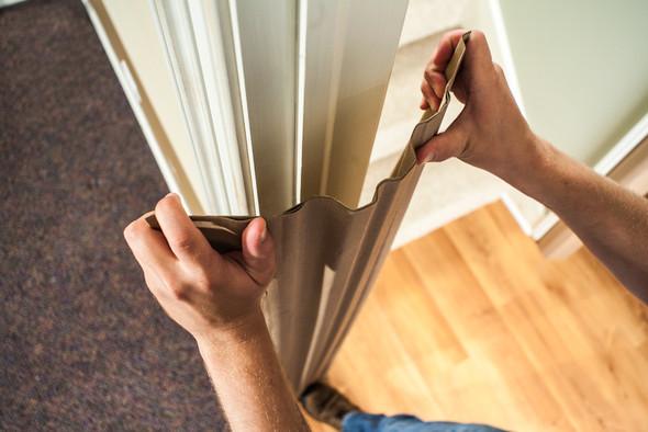 "Entry Shield 60"" Door Jamb Protector - Use"