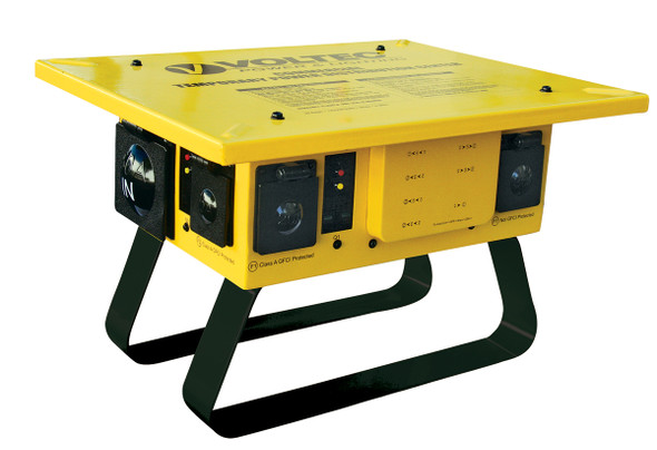 Temporary Power Box - 6 GFCI Twist Lock