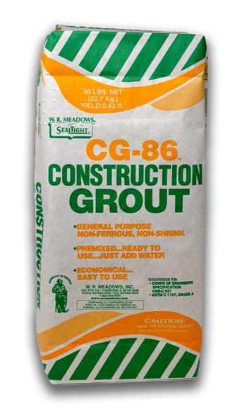 CG-86 - Construction-Grade Grout - Bag