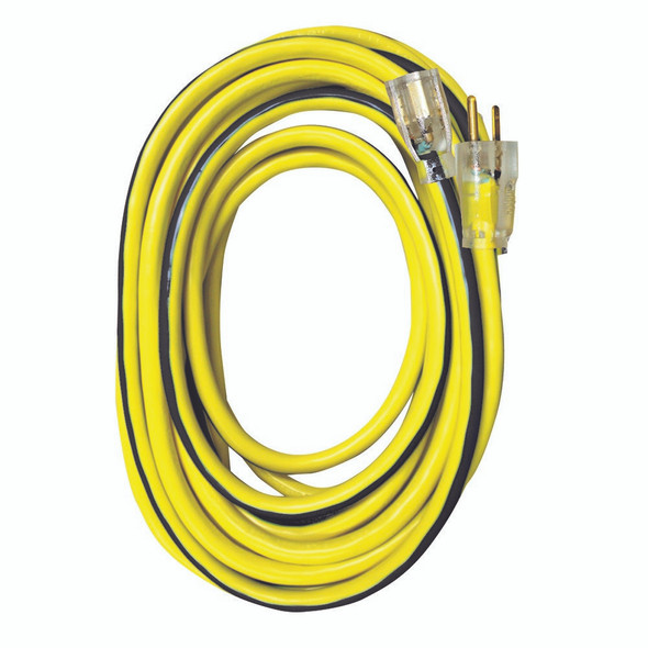 U/G SJTW Extension Cord w/ Lighted End