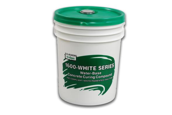 1600-WHITE 5 Gallon Concrete Curing Compound