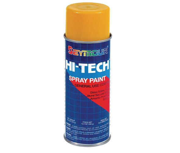 HI-TECH Spray Paint - Safety Yellow (Gloss) 16 oz