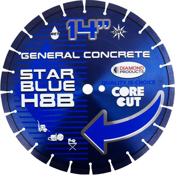 "Star Blue High Speed Diamond Blade - 14"""
