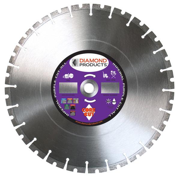 "Imperial Purple Cut-ALL High Speed Diamond Blade - 14"""