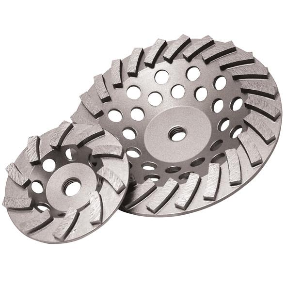 Delux-Cut Spiral Turbo Cup Grinder