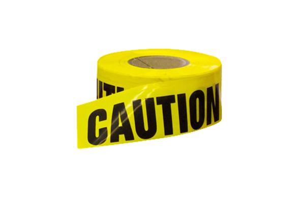 "Caution Tape - 3"" x 1000'"