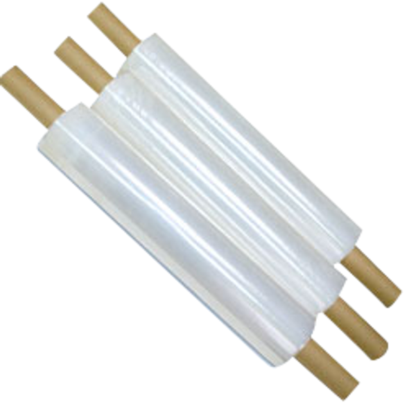 """Stretch Film w/Extended Core - 20"""" x 1000' Clear"""