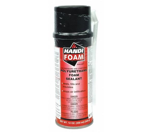 HANDIFOAM® Polyurethane Straw Foam Sealant - 12oz