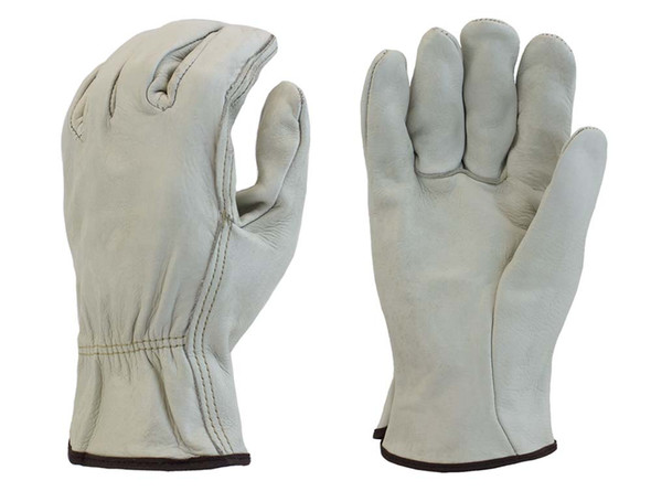 Leather Driver Work Gloves - Dozen