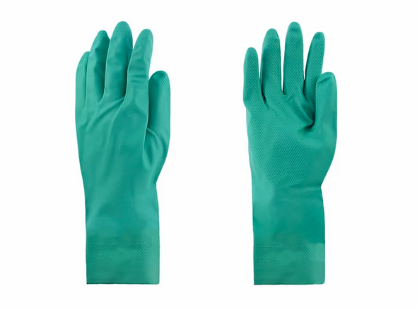 "Green Nitrile Glove 13"" Large - Dozen"