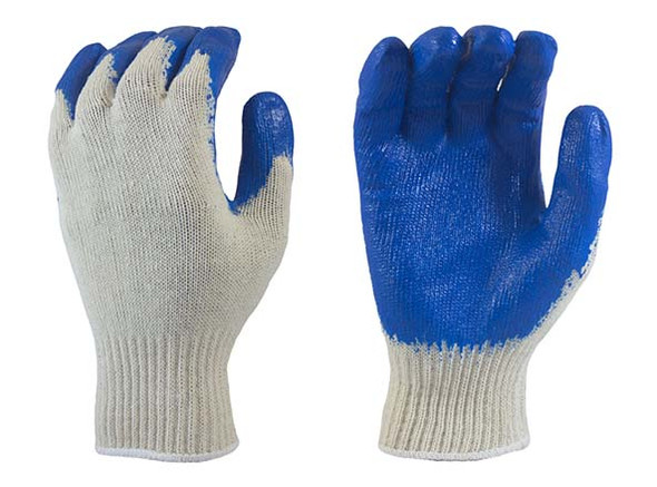 Latex Coated String Knit Gloves XL - Dozen