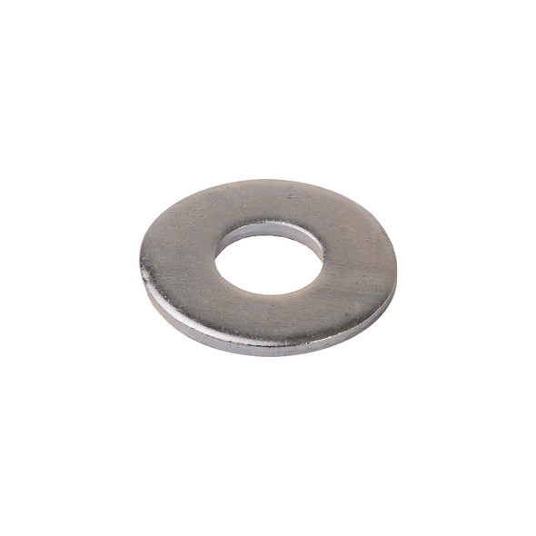 Zinc Plated Flat Washer - 100 Pack