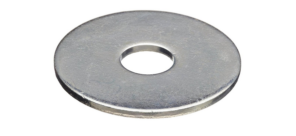 """Zinc Plated Fender Washer 3/8"""" x 1-1/4"""" - 100 Pack"""