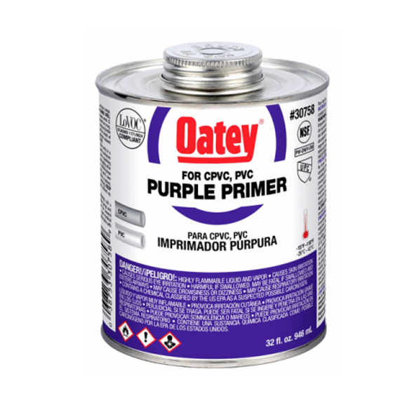 Purple Pipe Primer - 32 oz