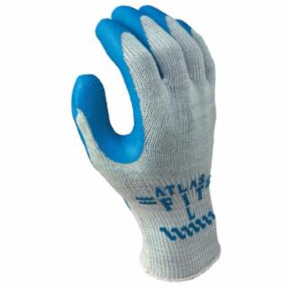 SHOWA® Atlas Fit® 300 Rubber-Coated Gloves, Large - Dozen