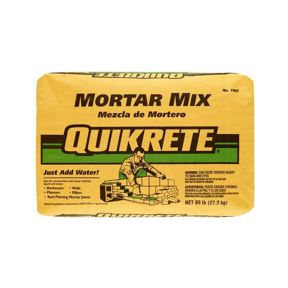 QUIKRETE® Mortar Mix - 60 lb