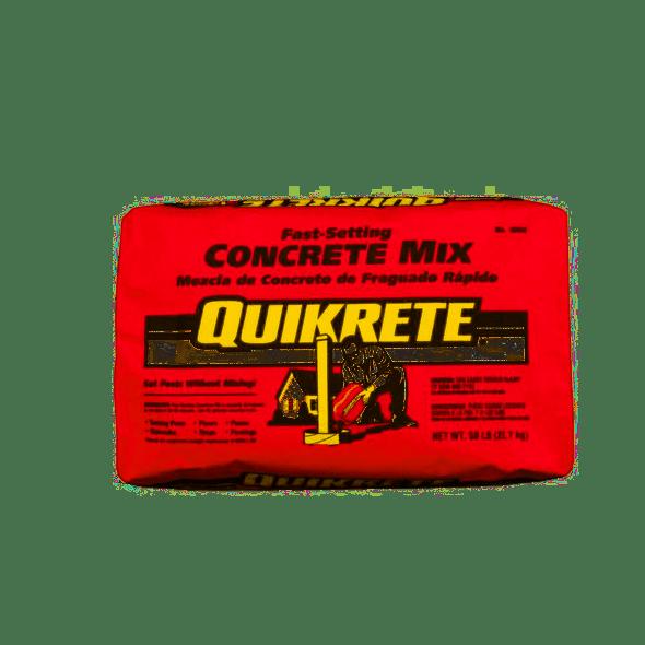 QUIKRETE® Fast Setting Concrete Mix - 50 lb