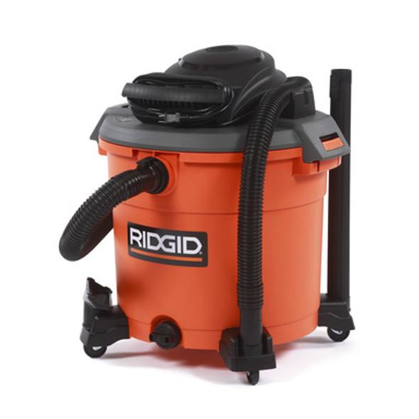 RIDGID 5.0-Peak HP Wet Dry Vac - 16 Gallon