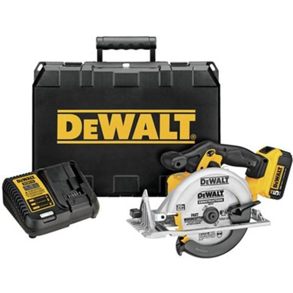 """6-1/2"""" 20V MAX 5.0Ah Circular Saw Kit"""