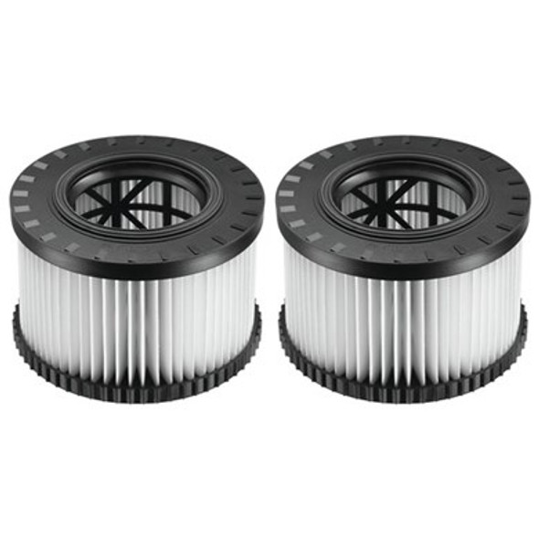 HEPA Filters (for DWV010 & DWV012 Dust Extractors) - 2 Pack