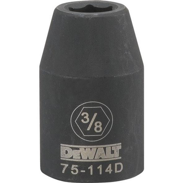 "1/2"" Drive, 6 PT Impact Socket, 3/8"""