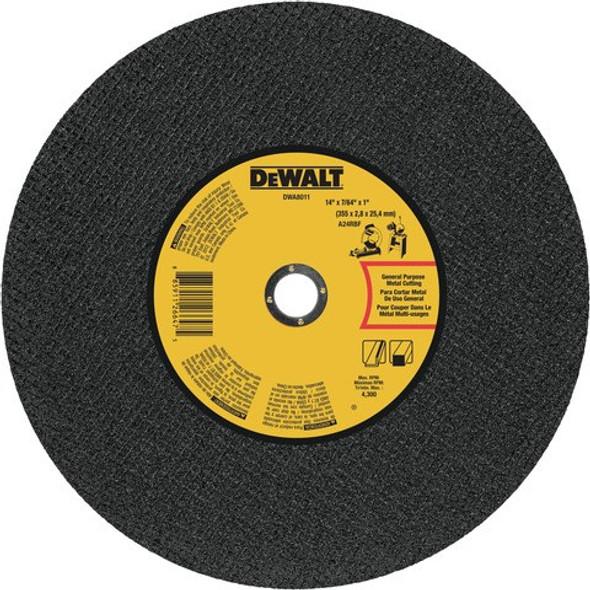 "14"" x 7/64"" x 1"" Metal Cutting Chop Saw Wheel"