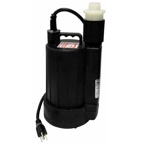 """1-1/4"""" Little Yellow Submersible Pump - 0.25 HP"""