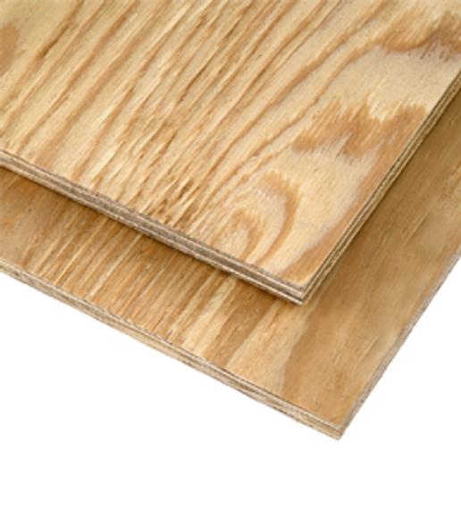 CDX Plywood - 4' x 8'