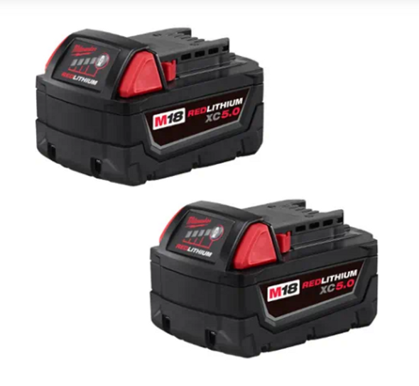 M18™ REDLITHIUM™ XC5.0 Battery - 2 Pack