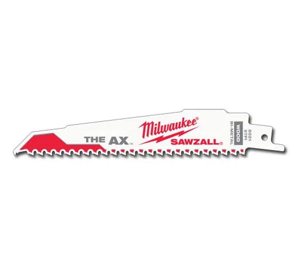 "9"" x 5 TPI SAWZALL® The AX Nail Embedded Wood Blades - 25 Pack"