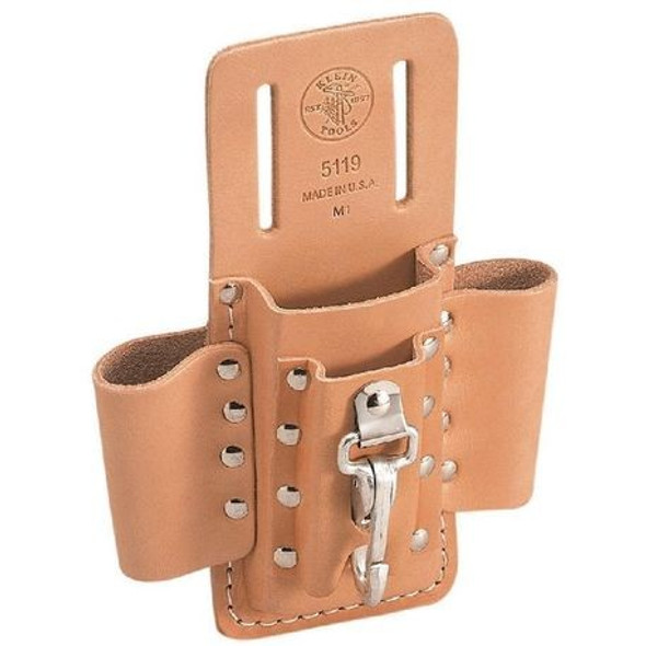 4 Pocket Tool Pouch 6-1/2'' x 8-1/2''