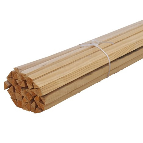 """3/4"""" x 10' Wood Chamfer - Sold by Foot"""