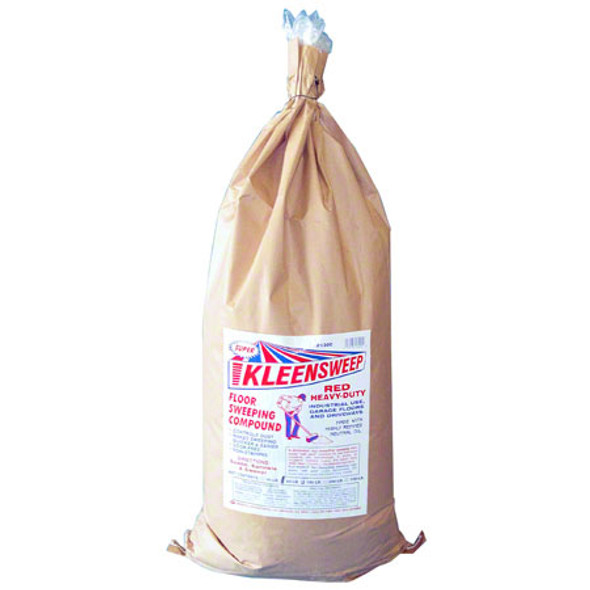 Red Heavy-Duty Sweeping Compound - 50 lb
