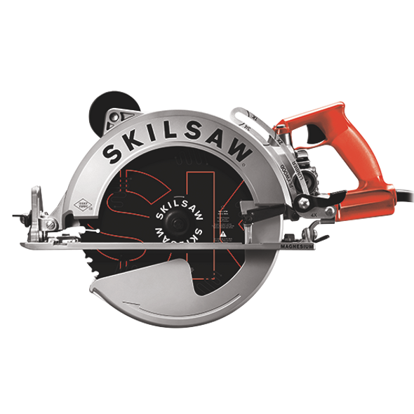 """SKIL 10-1/4"""" Magnesium Worm Drive Skilsaw Front"""