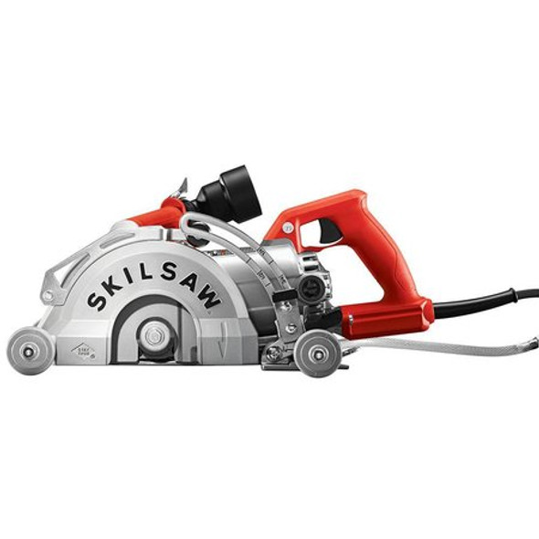 """SKIL 7"""" Worm Drive Skilsaw for Concrete Front"""