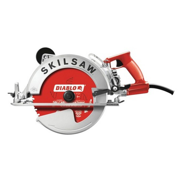 "SKIL 10-1/4"" Magnesium Sawsquatch Worm Drive Saw with Twist Lock Side"