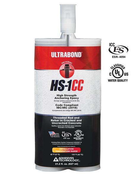 HS1CC 22 oz. Ultrabond epoxy