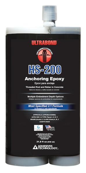 HS-200 Adhesive Technology 33 oz. Ultrabond Epoxy