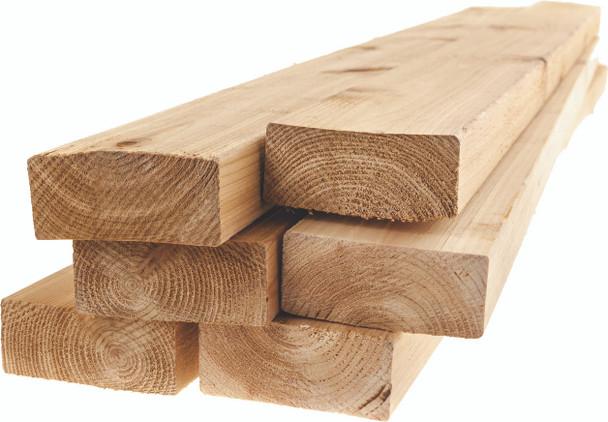 "Kiln Dried Douglas Fir Lumber - 2"" x 4"" x 8'"
