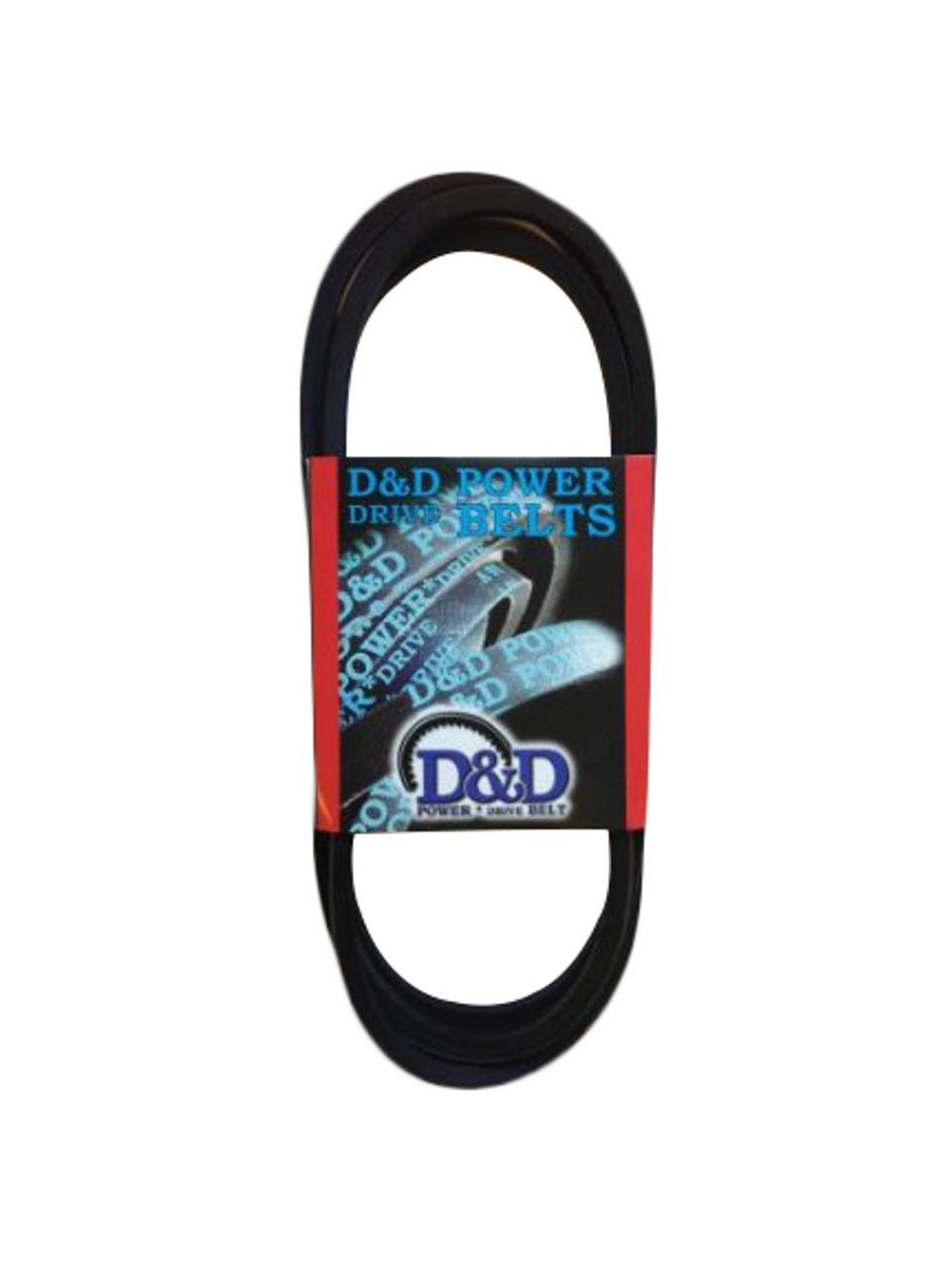 D/&D PowerDrive 2//3V335 Banded V Belt