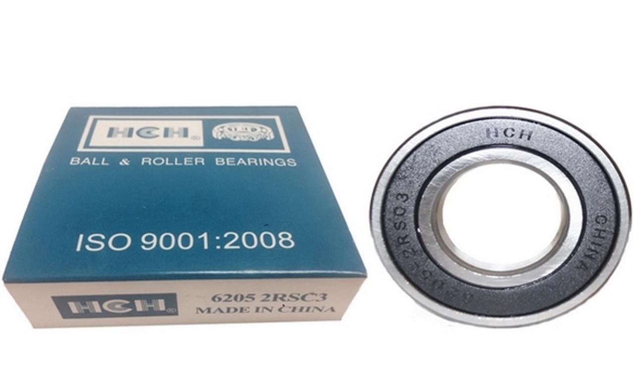 2 x BEARING 6005 ID 25mm OD 47mm WIDTH 12mm