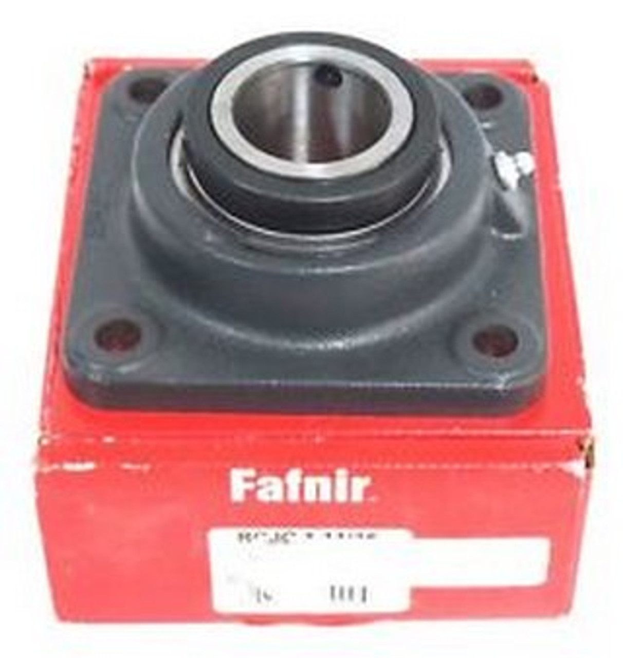 "FAFNIR 4-BOLT FLANGED BEARING 1/""  BORE VCJ 1 LOCKING COLLAR"