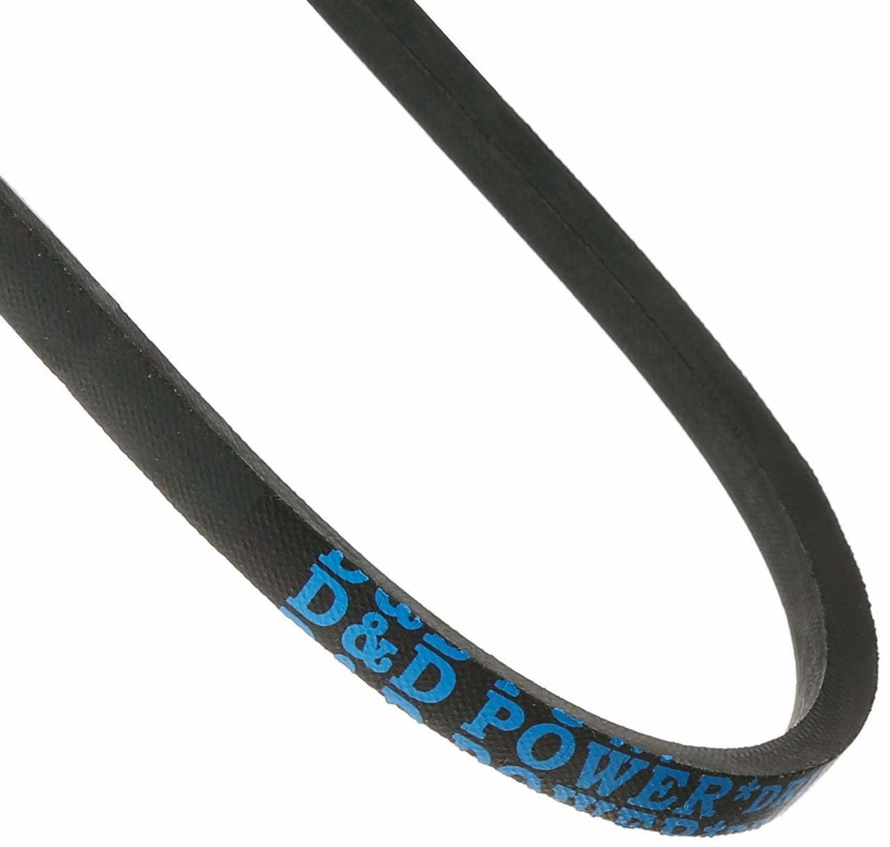 D/&D PowerDrive A138 V Belt  1//2 x 140in  Vbelt