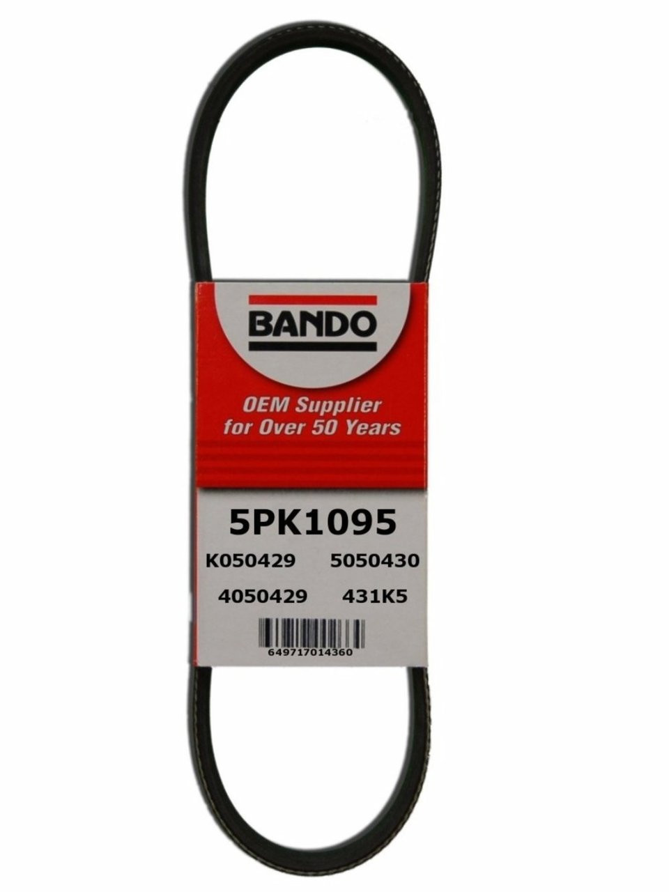 GATES 5PK1095 V-Ribbed Belt