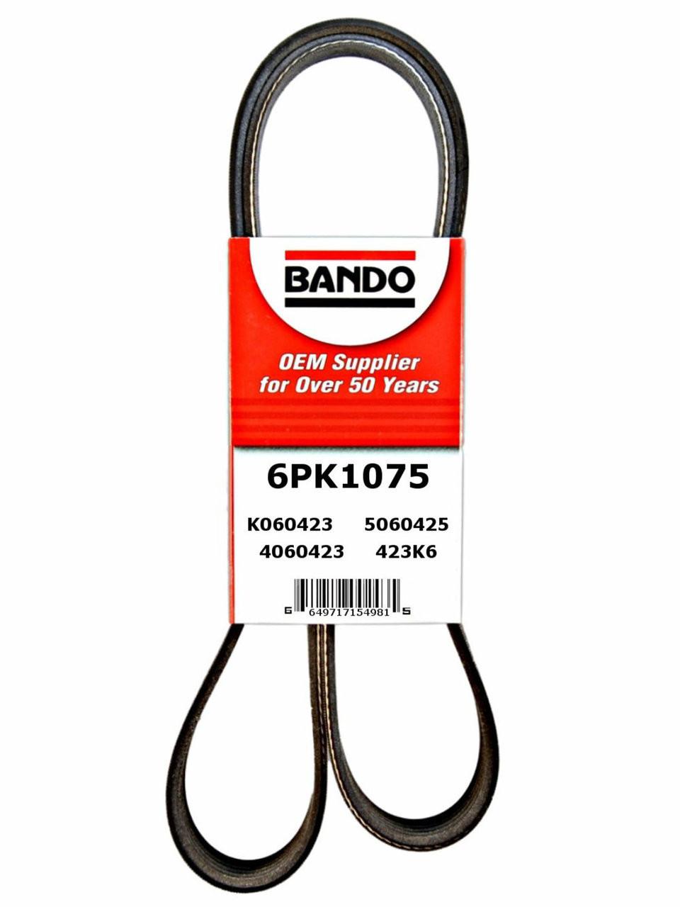 D/&D PowerDrive 454L050 Metric Standard Replacement Belt