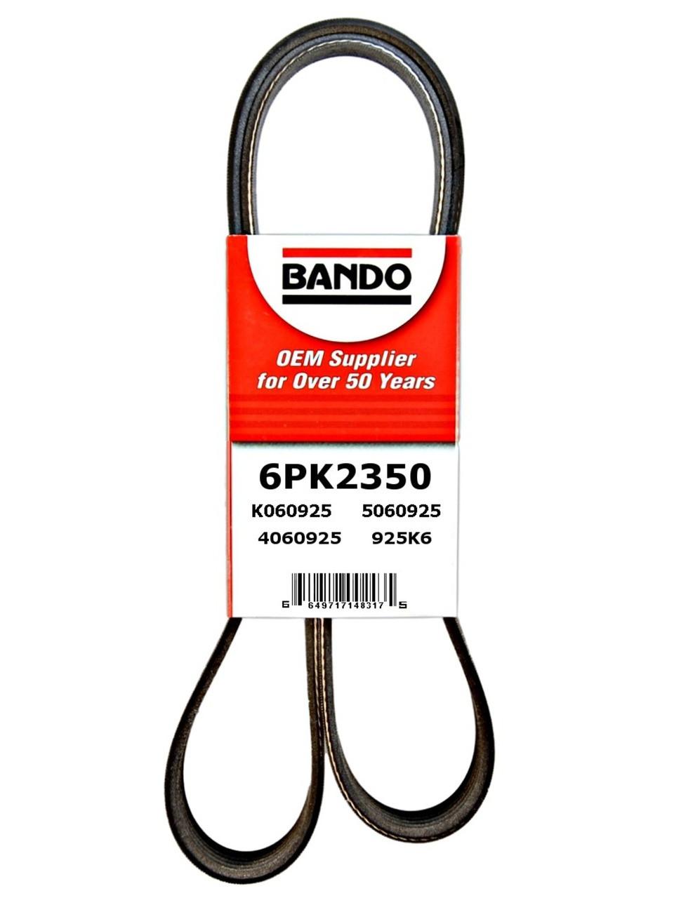 CRP 6K2236 Reman Serpentine Belt