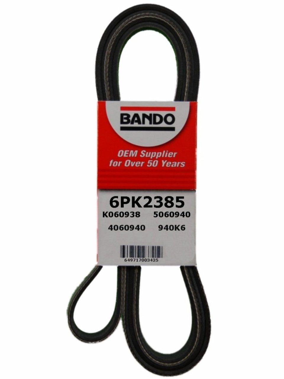 AC DELCO 6K938 Replacement Belt