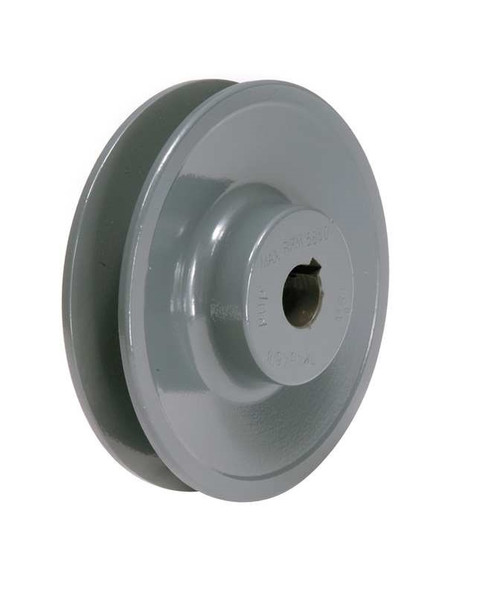 "3.55/"" DIAMETER 3//4/"" BORE 1 GROOVE V-BELT PULLEY 1-BK34-C"